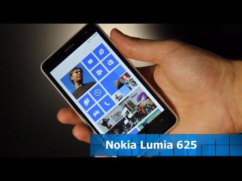 Nokia Lumia 625 im Test - Deutsch [HD]