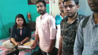Biswanath pandit central library Cuttack donate for rs-5500 money to soldier daughter