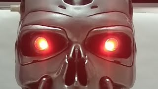 Подсветка глаз терминатора Т-800 своими руками