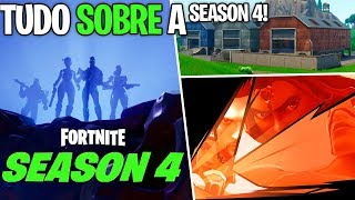 Fortnite-ALL ABOUT SEASON 4! SKINS, BATTLE PASS, METEOR, ETC!