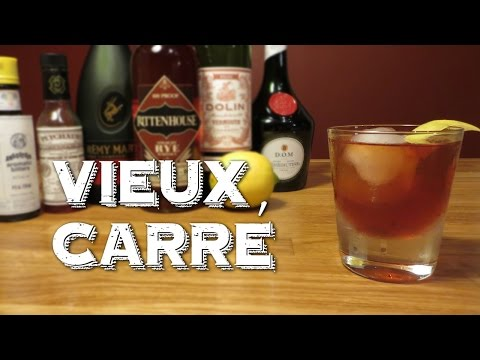 Vieux Carré - New Orleans Best Cocktail That Was Nearly Forgotten
