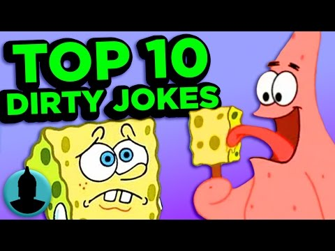 Thumbnail: Top 10 Dirty Cartoon Jokes You Missed - (Tooned Up S2 E3)