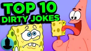 Top 10 Dirty Cartoon Jokes You Missed - (ToonedUp #84) @ChannelFred
