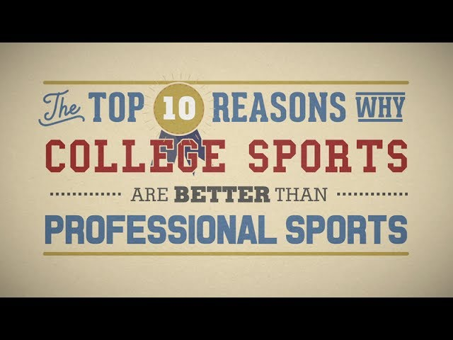 Why college sports are better than professional everton manager betting bet365