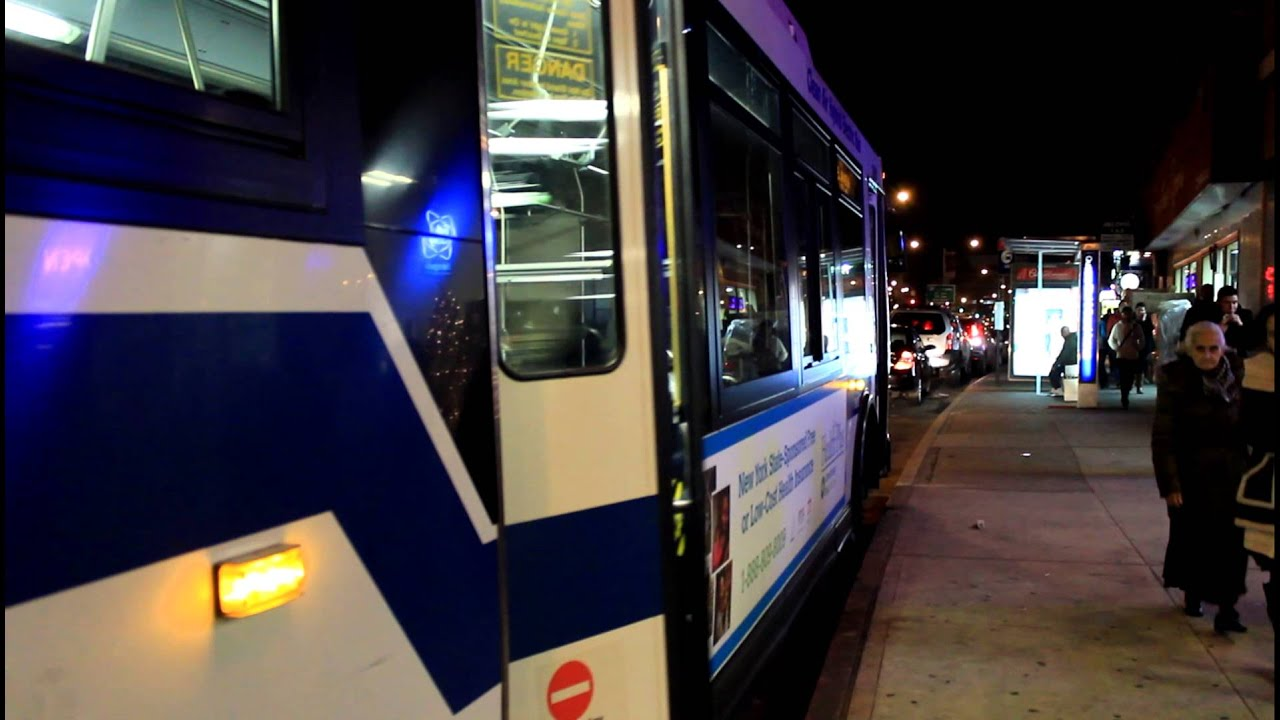 Mta Bus Co Three Jamaica Bound Orion 7 Q60 Buses At Queens Blvd
