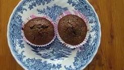 mehevät suklaa-banaani muffinssit