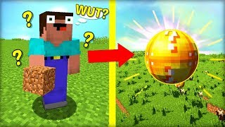 TOTALLY CONFUSED NOOB vs. ROUND LUCKY BLOCK!
