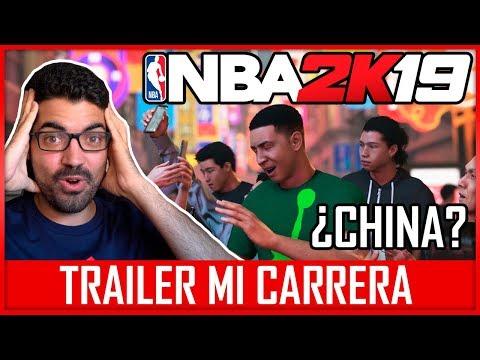 NBA 2K19 MI CARRERA ¡TRAILER! - ¿EMPEZAMOS EN CHINA? REACCIÓN + OPINIÓN
