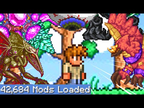 Terraria But I Downloaded Every Single Mod 2