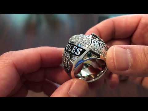 Philadelphia Eagles Super Bowl Ring High Quality Replica 52 LII