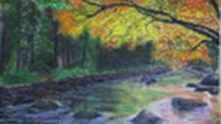 Fall Stream Speed Drawing
