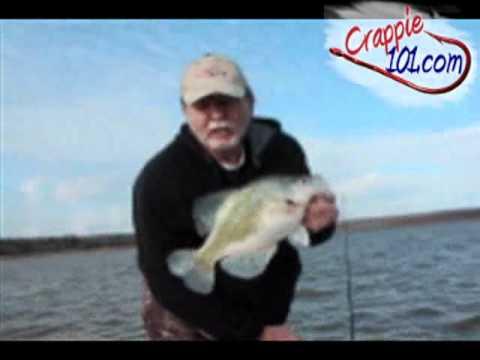 John woods crappie fishing on sardis lake 02 06 11 youtube for Sardis lake fishing report