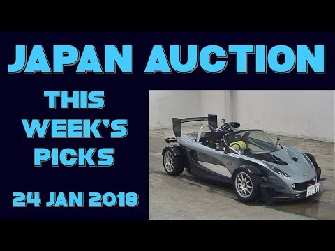 Japan Weekly Auction Picks 054 - 24 Jan 18