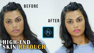 Photoshop CC Tutorial - High End Skin Retouch