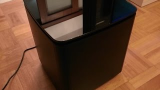Bose Acoustimass 300 wireless bass (subwoofer) module sound test