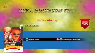 Phool Jaisi Mastan Teri |Taqdeerwala |Jukebox | Venkatesh,Ravinatandan