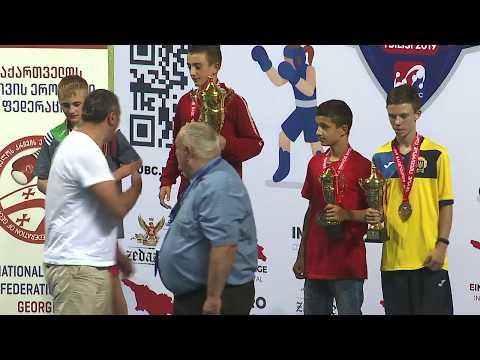 (41,5kg)GOR  AYVAZIAN The Champion Of Europe On Boxing -2019 წ.10 აგვისტოს დაჯილდოების ცერემონიალზე.