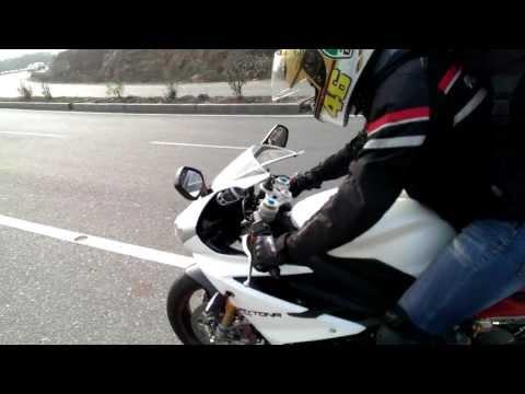 Triumph Daytona r - First Ride India - Corner -