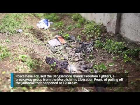 Suspected rebels storm North Cotabato jail, 158 inmates escape