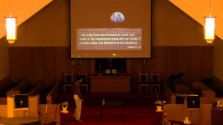 The Worldview Series - Session 6 with Special guest speaker, Dr. Jason Lisle
