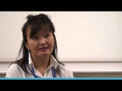 Executive MSc Logistics and Supply Chain Management: Aigerim Sarguzhiyeva student video