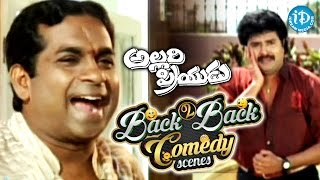 Allari Priyudu Telugu Movie Back to Back Comedy Scenes