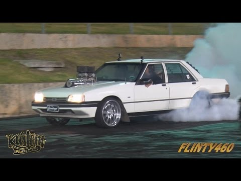"BLOWN XF FALCON ""BANKRUPT"" DEBUT SKID AT THE PERTH MOTORPLEX"