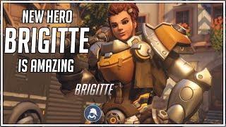New Hero - Brigitte |Abilities and Profile| This Hero Is Amazing!