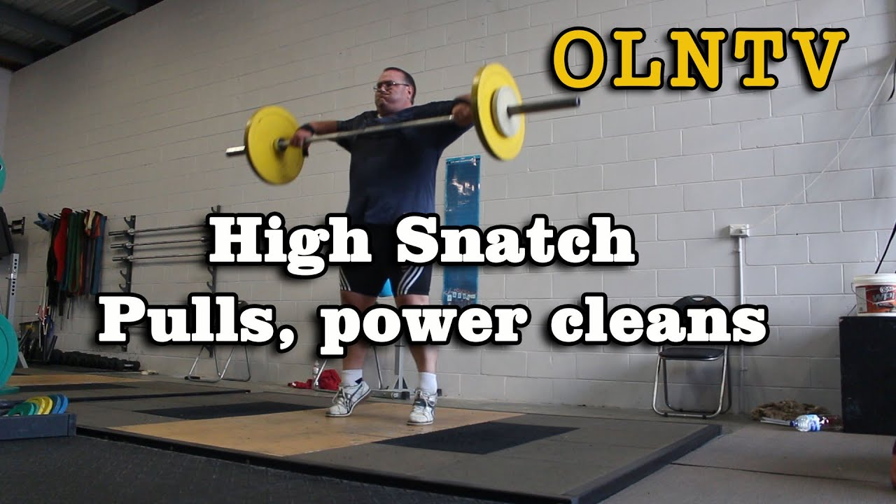 olympic weightlifting hang power cleans high snatch pulls youtube. Black Bedroom Furniture Sets. Home Design Ideas