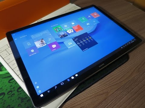Windows 10 планшетный режим. Huawei MateBook