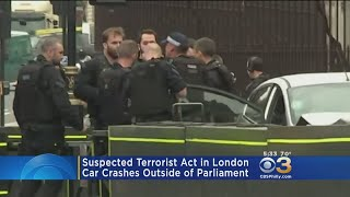 UK Police Treat Parliament Crash As Terrorism, Seek Motive