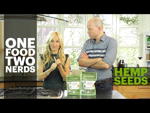 Hemp Seeds: Health Benefits + Hemp Smoothie Healthy Eating Recipe – One Food, Two Nerds