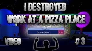 Roblox Exploiting Video #3- Work At A Pizza Place