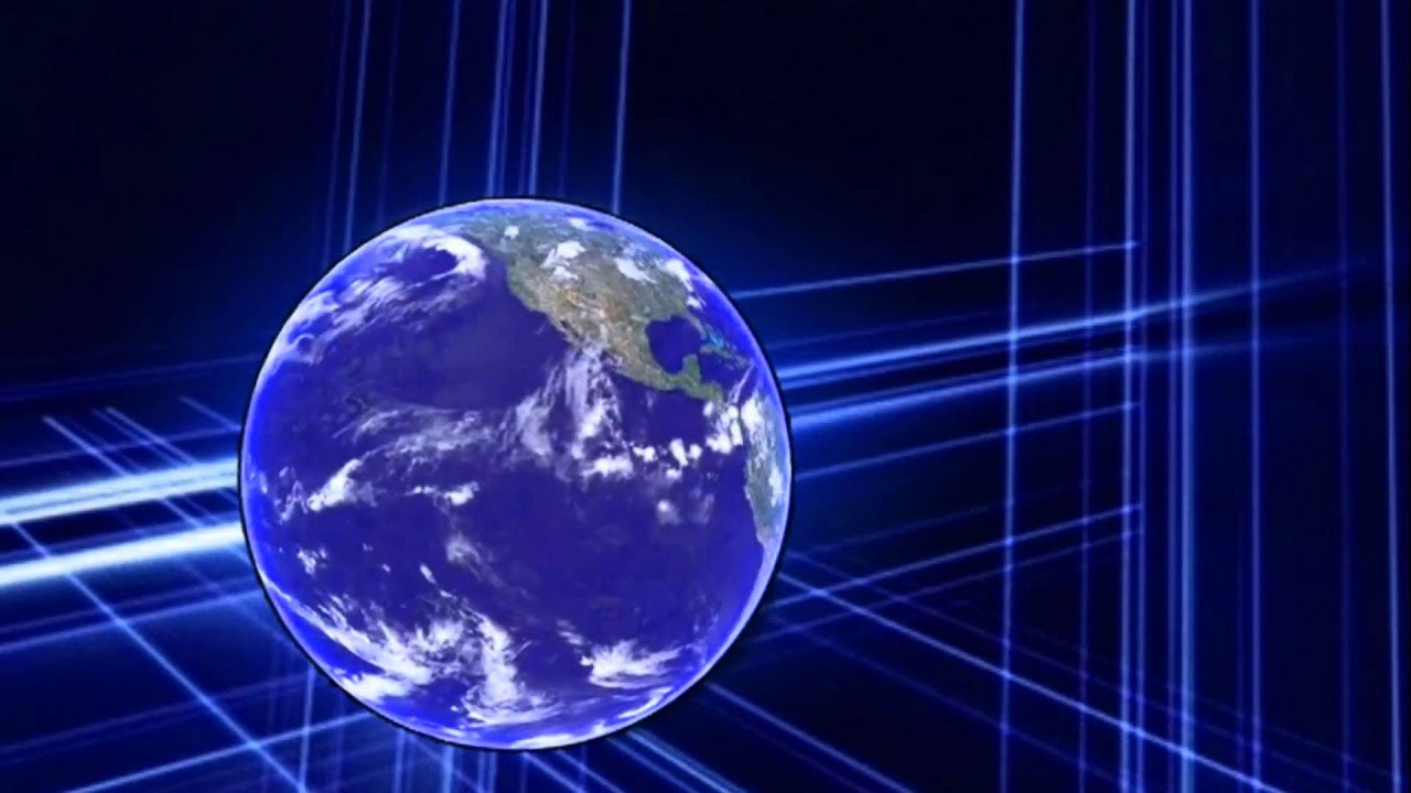 Spinning Earth Free background video 1080p HD stock video footage