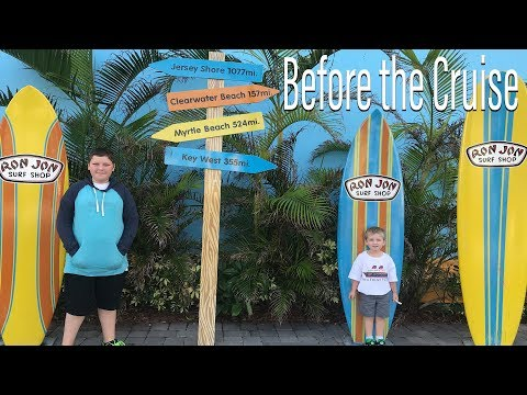 Before the Cruise: Four Points by Sheraton Cocoa Beach