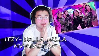 ITZY  - DALLA DALLA MV REACTION! (@BrandonxRage)