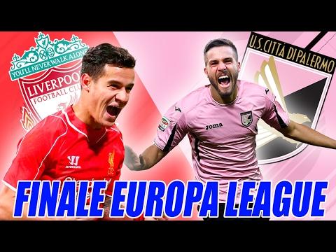 FINALE EUROPA LEAGUE PALERMO LIVERPOOL! [PARTITA INTERA CON INTRO]
