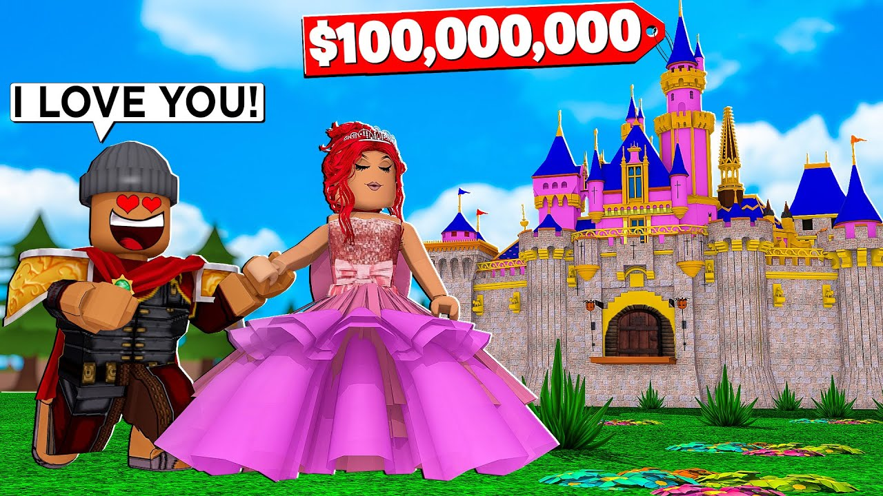 I Built A 100 000 000 Castle And Fell In Love With A Princess