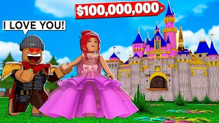 i-built-a-100-000-000-castle-and-fell-in-love-with-a-princess-roblox