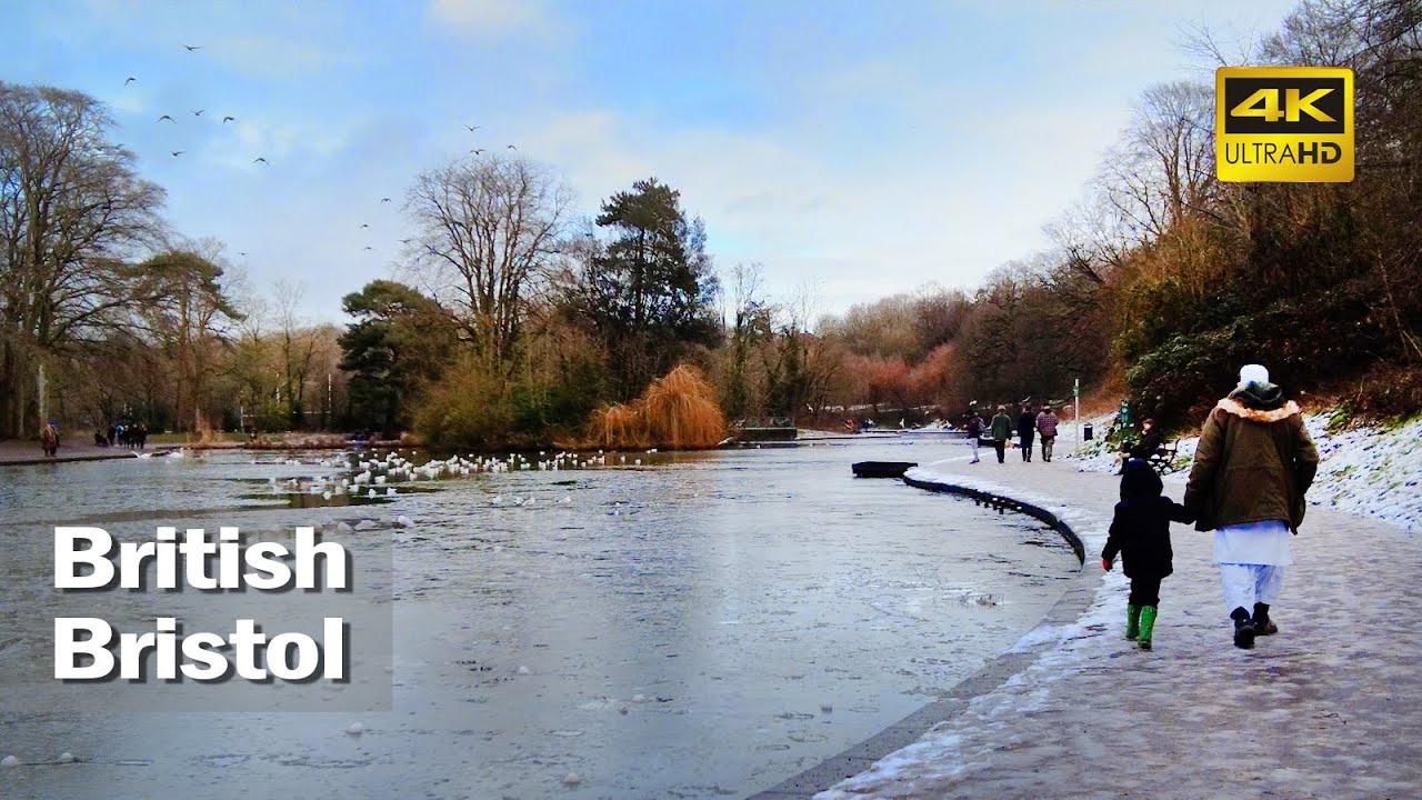 Download 🇬🇧 Walk Around in UK - Bristol's Eastville Park & Lake [4K] │England│British
