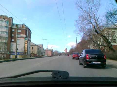 Дороги Мурманска. Полярный день / Murmansk Roads At Polar Day