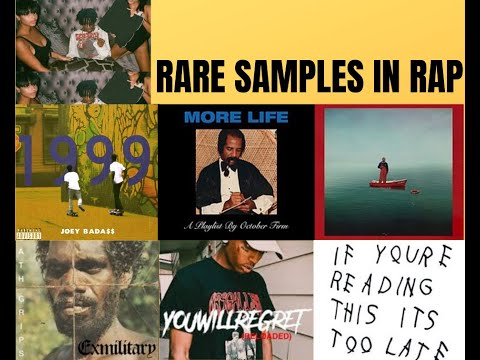 rare/unique samples in rap