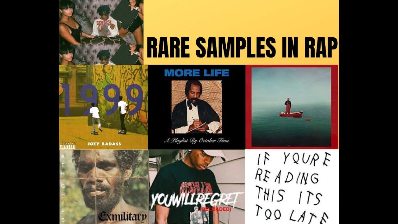 Rare Unique Samples In Rap