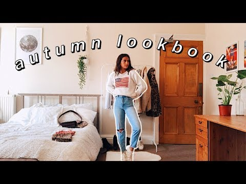 [VIDEO] - AUTUMN LOOKBOOK // casual back to uni outfits ☆ 4