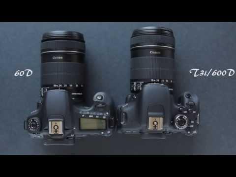 Canon 60D Vs Canon T3i 600D (рус)