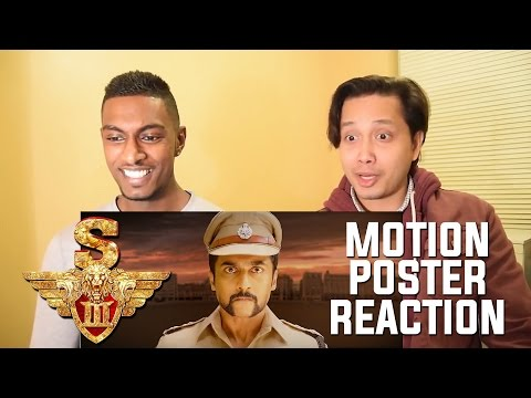 S3 - Singam 3 Official Motion Poster Reaction And Review | Suriya, Shruti Haasan | By Stageflix