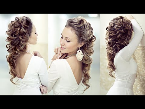 Hairstyle for long hair - Причёска на нитках - (фото) - Hairstyles by REM