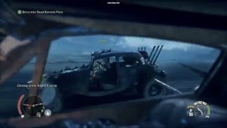 Mad Max First Person Convoy Fight (Test)