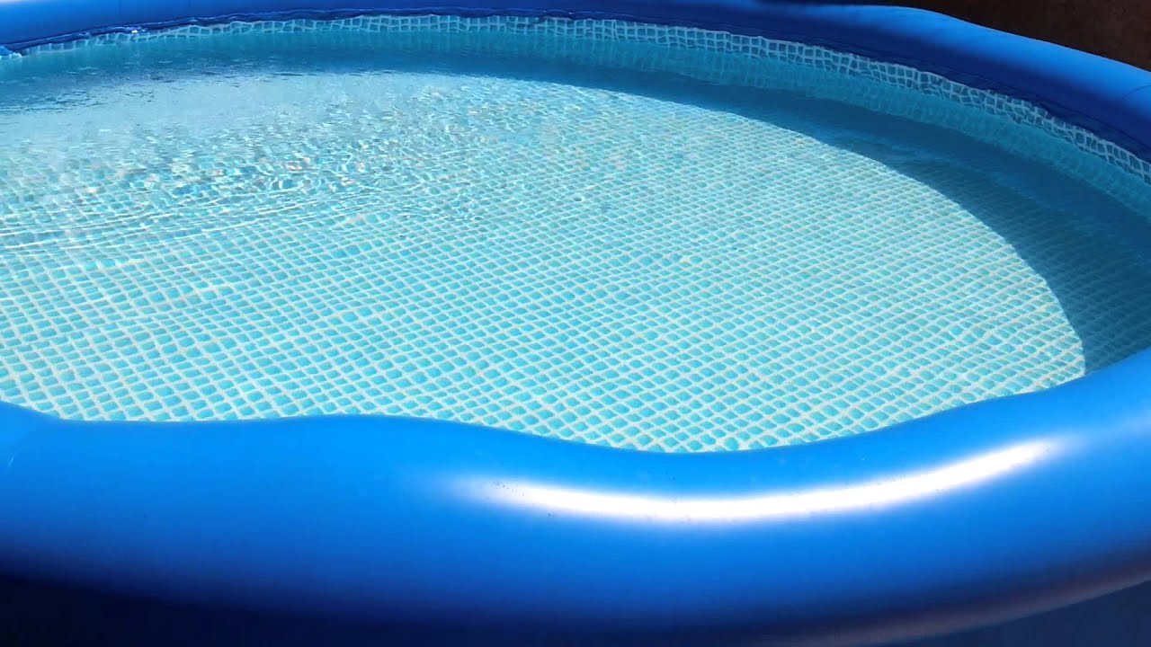 piscina intex 6734 lts youtube