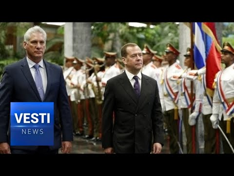 Havana Welcomes Medvedev! Russian Companies Will Help Cuba Start Exploiting Offshore Oil!
